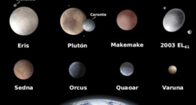 Planeta Make Make tiene una luna.