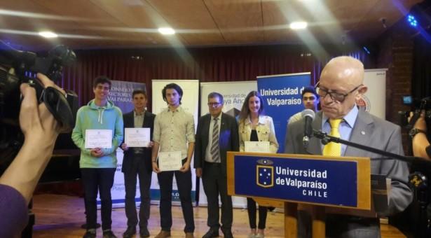 Vicente de los Ríos Oñate, puntaje nacional en matemáticas 2017.